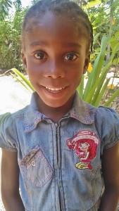 This is Roselandie Vertus, aged 5