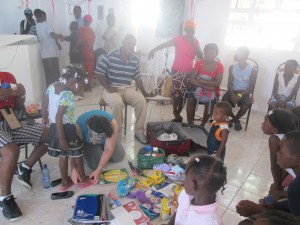 At Morne Augustin Orphanage and School.